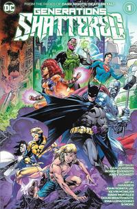 Cover Thumbnail for Generations Shattered (DC, 2021 series) #1 [Ivan Reis & Joe Prado Cover]