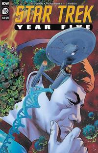 Cover Thumbnail for Star Trek: Year Five (IDW, 2019 series) #18 [Regular Cover]
