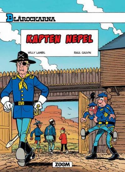 Cover for Blårockarna (Zoom, 2014 series) #[35] - Kapten Nepel