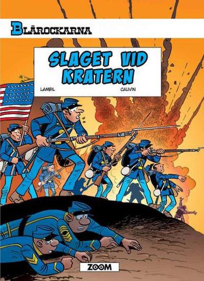 Cover for Blårockarna (Zoom, 2014 series) #[63] - Slaget vid kratern