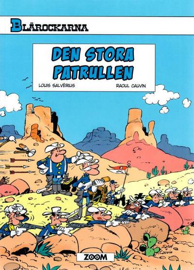 Cover for Blårockarna (Zoom, 2014 series) #[9] - Den stora patrullen