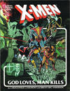 Cover Thumbnail for Marvel Graphic Novel (1982 series) #5 - X-Men: God Loves, Man Kills [Sixth Printing]