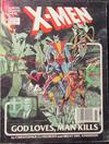 Cover for Marvel Graphic Novel (Marvel, 1982 series) #5 - X-Men: God Loves, Man Kills [Seventh Printing]