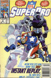 Cover for NFL Superpro (Marvel, 1991 series) #3 [Newsstand]