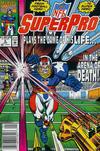 Cover for NFL Superpro (Marvel, 1991 series) #4 [Newsstand]