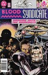 Cover for Blood Syndicate (DC, 1993 series) #11 [Newsstand]