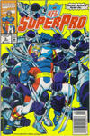 Cover Thumbnail for NFL Superpro (1991 series) #9 [Newsstand]