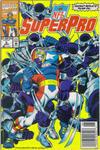 Cover for NFL Superpro (Marvel, 1991 series) #9 [Newsstand]