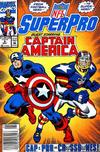 Cover for NFL Superpro (Marvel, 1991 series) #8 [Newsstand]