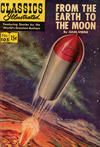 Cover for Classics Illustrated (Gilberton, 1947 series) #105 [HRN 146] - From the Earth to the Moon