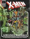 Cover Thumbnail for Marvel Graphic Novel (1982 series) #5 - X-Men: God Loves, Man Kills [Ninth Printing]