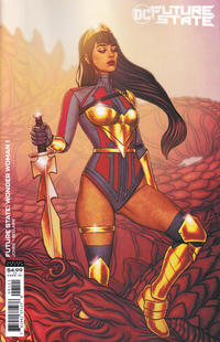 Cover Thumbnail for Future State: Wonder Woman (DC, 2021 series) #1 [Jenny Frison Cardstock Variant Cover]