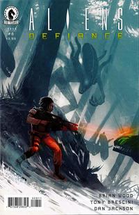 Cover Thumbnail for Aliens: Defiance (Dark Horse, 2016 series) #8