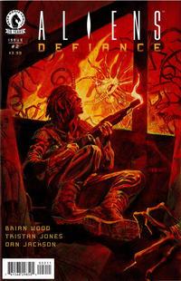 Cover Thumbnail for Aliens: Defiance (Dark Horse, 2016 series) #2