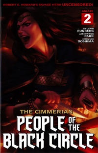 Cover Thumbnail for The Cimmerian: People of the Black Circle (Ablaze Publishing, 2020 series) #2