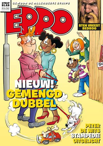 Cover for Eppo Stripblad (Uitgeverij L, 2018 series) #1/2021