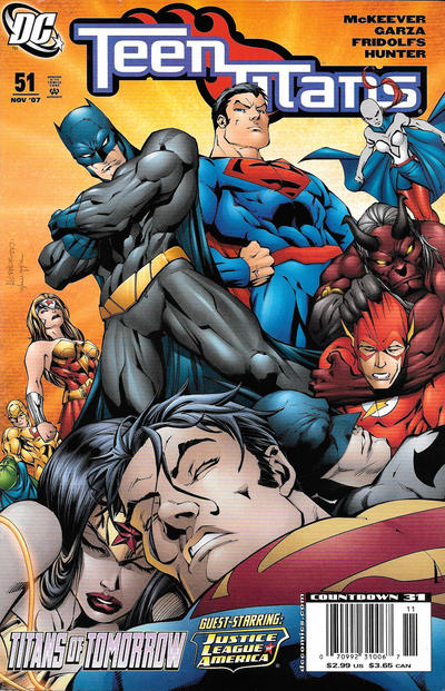 Cover for Teen Titans (DC, 2003 series) #51 [Direct Sales]