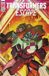Cover for Transformers: Escape (IDW, 2020 series) #1 [Cover A - Bethany McGuire-Smith]
