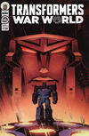 Cover for Transformers (IDW, 2019 series) #25 [Cover A - Angel Hernandez]