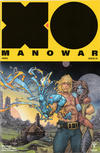 Cover for X-O Manowar (2017) (Valiant Entertainment, 2017 series) #26 [Cover A - Kenneth Rocafort]