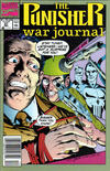 Cover Thumbnail for The Punisher War Journal (1988 series) #37 [Newsstand]