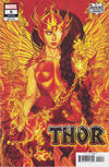 Cover Thumbnail for Thor (2020 series) #9 (735) [Jenny Frison - Valkyrie Phoenix Cover]