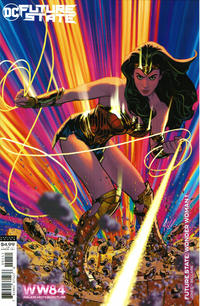 Cover Thumbnail for Future State: Wonder Woman (DC, 2021 series) #1 [Adam Hughes Wonder Woman 1984 Cardstock Variant Cover]
