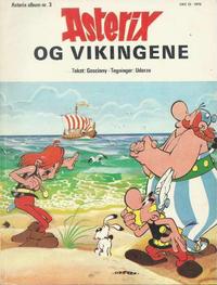 Cover Thumbnail for Asterix (Hjemmet / Egmont, 1969 series) #3 - Asterix og vikingene
