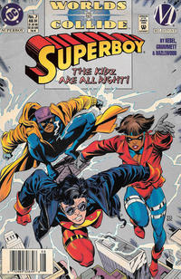 Cover Thumbnail for Superboy (DC, 1994 series) #7 [Newsstand]