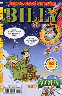 Cover Thumbnail for Billy (Hjemmet / Egmont, 1998 series) #1/2021