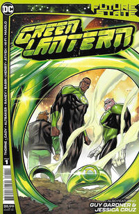 Cover Thumbnail for Future State: Green Lantern (DC, 2021 series) #1 [Clayton Henry Cover]