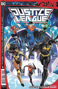 Cover Thumbnail for Future State: Justice League (DC, 2021 series) #1 [Dan Mora Cover]