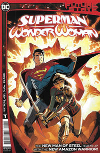 Cover Thumbnail for Future State: Superman / Wonder Woman (DC, 2021 series) #1 [Lee Weeks Cover]