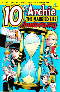 Cover Thumbnail for Archie: The Married Life - 10th Anniversary (Archie, 2019 series) #4 [Cover B - Rick Burchett]