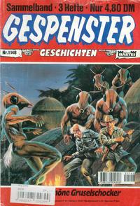 Cover Thumbnail for Gespenster Geschichten Sammelband (Bastei Verlag, 1974 series) #1148