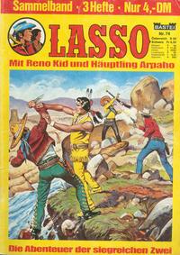 Cover Thumbnail for Lasso Sammelband (Bastei Verlag, 1967 ? series) #74