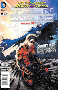 Cover Thumbnail for Teen Titans (DC, 2011 series) #17 [Newsstand]
