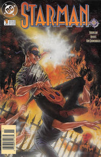 Cover Thumbnail for Starman (DC, 1994 series) #1 [Newsstand]