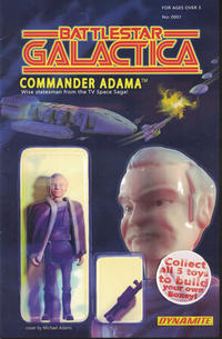 Cover Thumbnail for Battlestar Galactica (Classic) (Dynamite Entertainment, 2016 series) #1 [Cover D Exclusive Subscription [Action Figure]]
