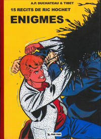 Cover Thumbnail for Ric Hochet (Pan Pan Editions, 2011 series) #1 - Enigmes