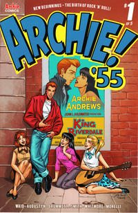 Cover Thumbnail for Archie 1955 (Archie, 2019 series) #1 [Cover B Jinky Coronado]