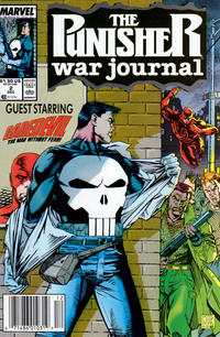 Cover Thumbnail for The Punisher War Journal (Marvel, 1988 series) #2 [Newsstand]