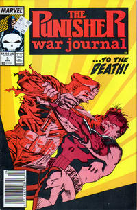 Cover Thumbnail for The Punisher War Journal (Marvel, 1988 series) #5 [Newsstand]