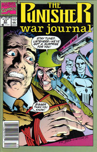 Cover Thumbnail for The Punisher War Journal (Marvel, 1988 series) #37 [Newsstand]