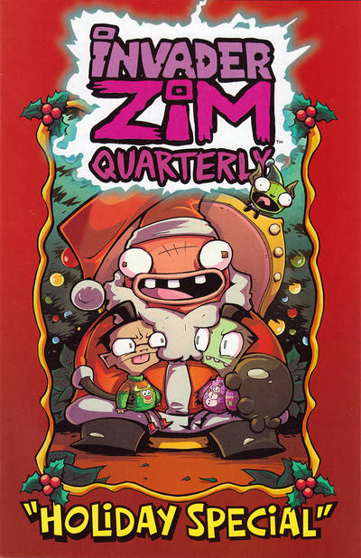 Cover for Invader Zim Quarterly: Holiday Special (Oni Press, 2020 series) #1 [Cover A]