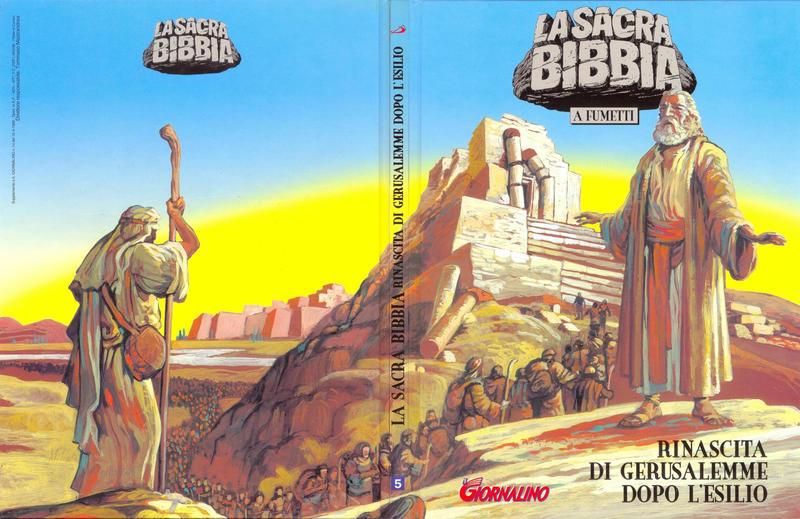 Cover for Supplementi a  Il Giornalino (Edizioni San Paolo, 1982 series) #14/1998 - La Sacra Bibbia a fumetti  5