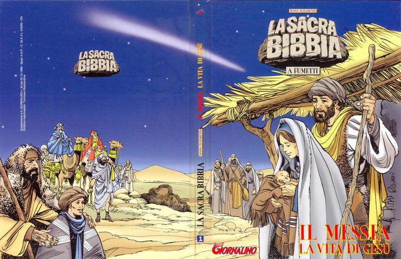 Cover for Supplementi a  Il Giornalino (Edizioni San Paolo, 1982 series) #50/1998 - Nuovo Testamento  La Sacra Bibbia a fumetti  1