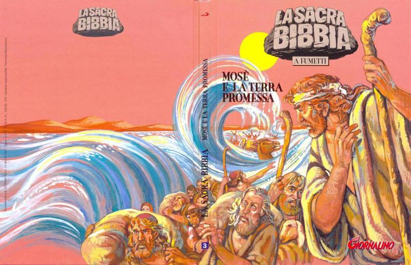 Cover for Supplementi a  Il Giornalino (Edizioni San Paolo, 1982 series) #14/1997 - La Sacra Bibbia a fumetti  3