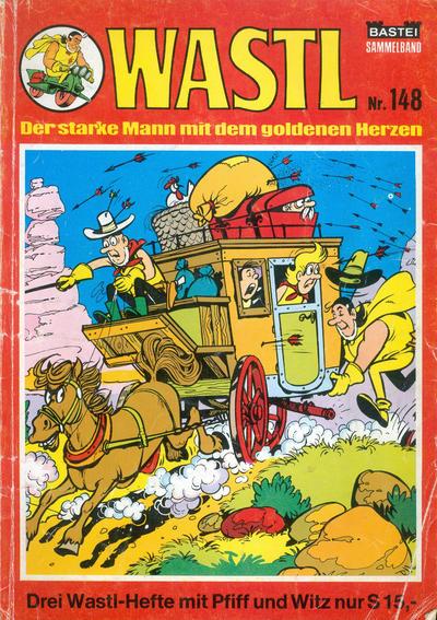 Cover for Wastl Sammelband (Bastei Verlag, 1972 ? series) #148