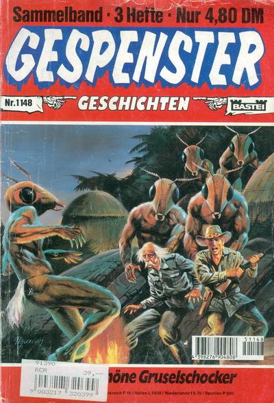 Cover for Gespenster Geschichten Sammelband (Bastei Verlag, 1974 series) #1148